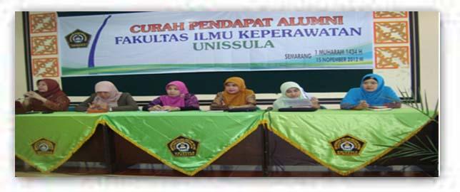 Curah Pendapat Alumni Fakultas Ilmu Keperawatan